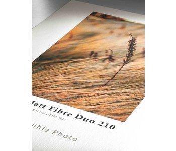 """Hahnemuhle Photo Matt Fiber Duo 210 8x10"""" 25 Sheet *"""