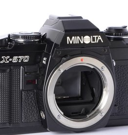 Minolta Minolta X-570 X570 Black Body 35mm SLR *