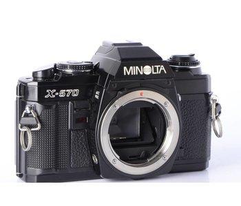 Minolta X-570 X570 Black Body 35mm SLR *
