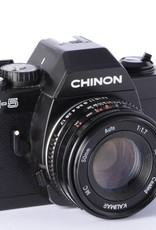 Chinon Chinon CM-5 35mm Manual SLR Camera w/50mm F/1.7 lens