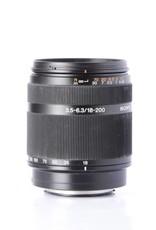 Sony Sony 18-200mm f/3.5-6.3 DT Telephoto lens