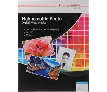 """Hahnemuhle Photo Luster 17x22"""", 25 sheets"""
