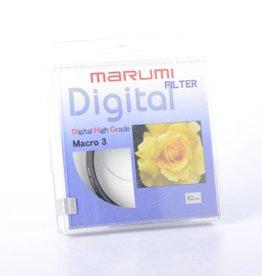 Marumi Marumi 62mm DHG Macro 3 Filter *