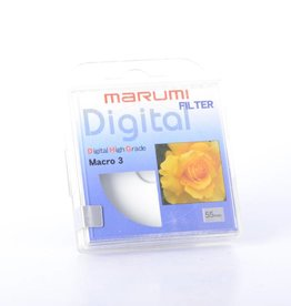 Marumi Marumi 55mm DHG Macro 3 Filter *
