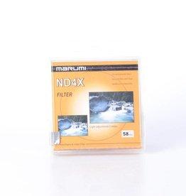 Marumi Marumi 58mm ND4 (2 Stop) Filter *