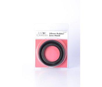 DLC LeZot Rubber Lens Hood 58mm *