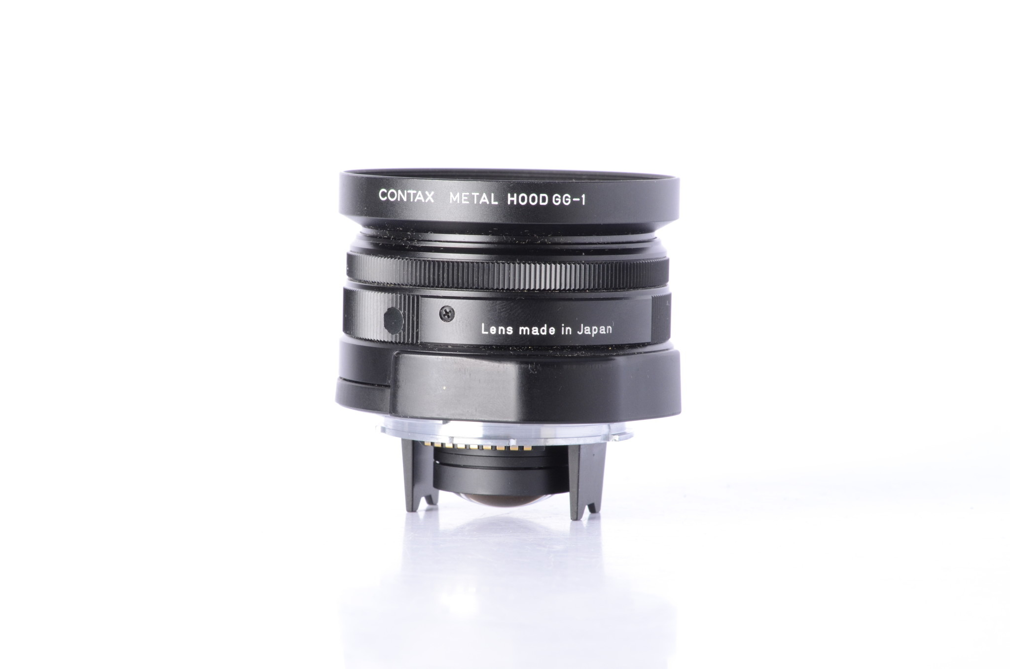 Contax Contax 28mm f/2.8 Black for G1 G2 SN: 7851775