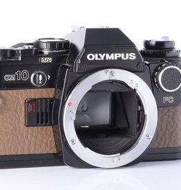 Olympus Olympus OM10 | Black & Tan |  Brown SE Leatherette | Manual Adapter Included