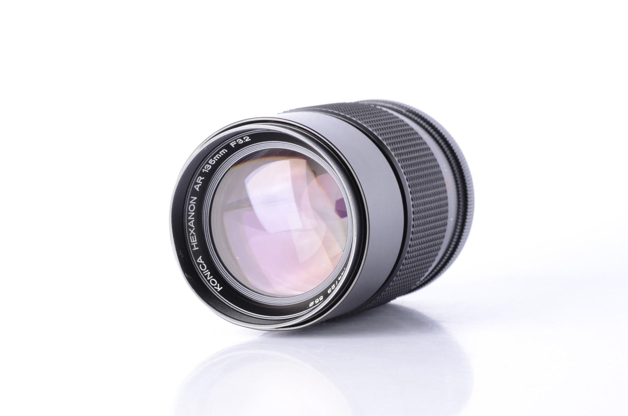 Konica Konica Hexanon AR 135mm F/3.2 Portrait lens