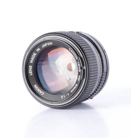 Canon Canon 50mm f/1.2 | FD Manual Focusing Lens *