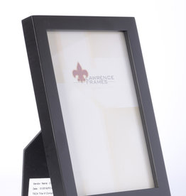 Lawrence Black Wood 4x6 Frame