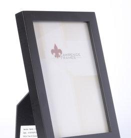 Lawrence Black Wood 5x7 Frame