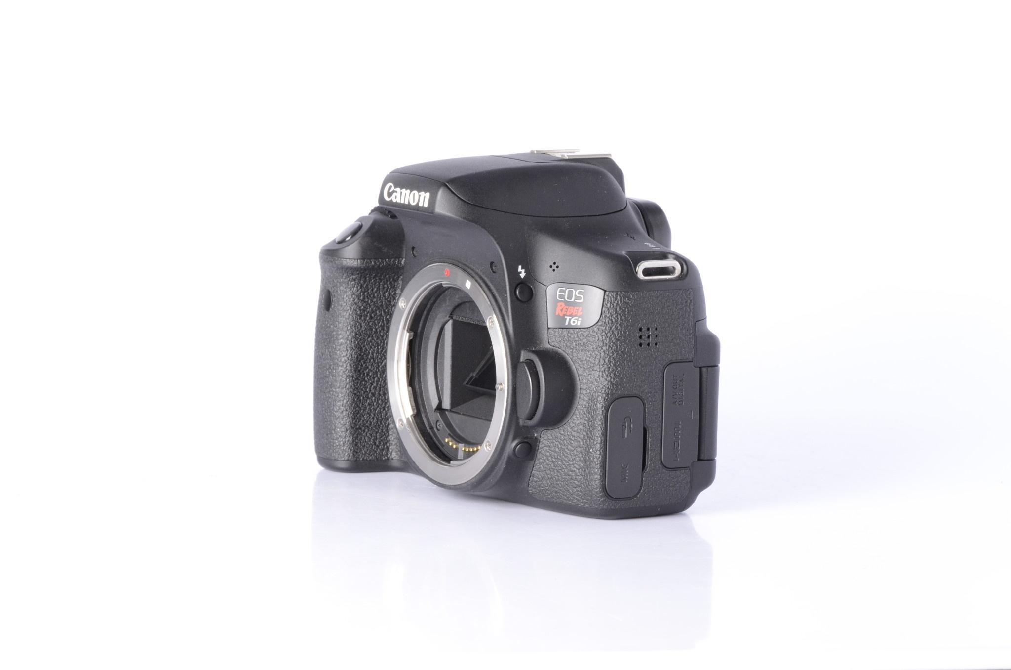 Canon Canon Rebel T6i DSLR Camera Body *