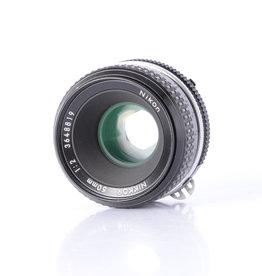 Nikon Nikon 50mm f/2 Prime AI Lens *