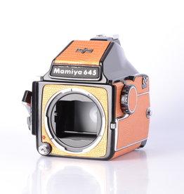 Mamiya Mamiya M645 Medium Format Camera Body w/ Prism Orange *