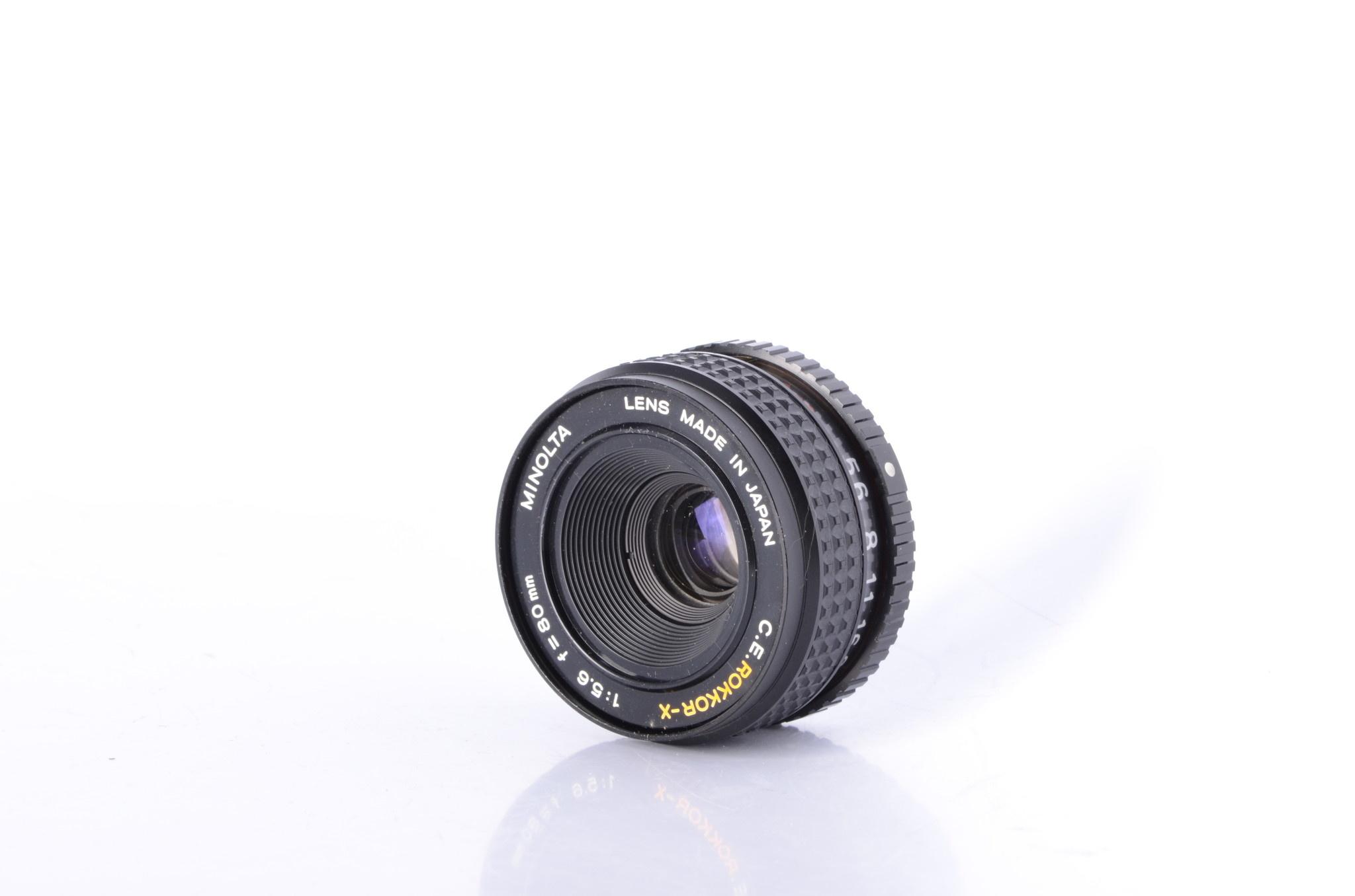 Minolta Minolta CE Rokkor X 80mm f/5.6 Enlarger Lens SN:
