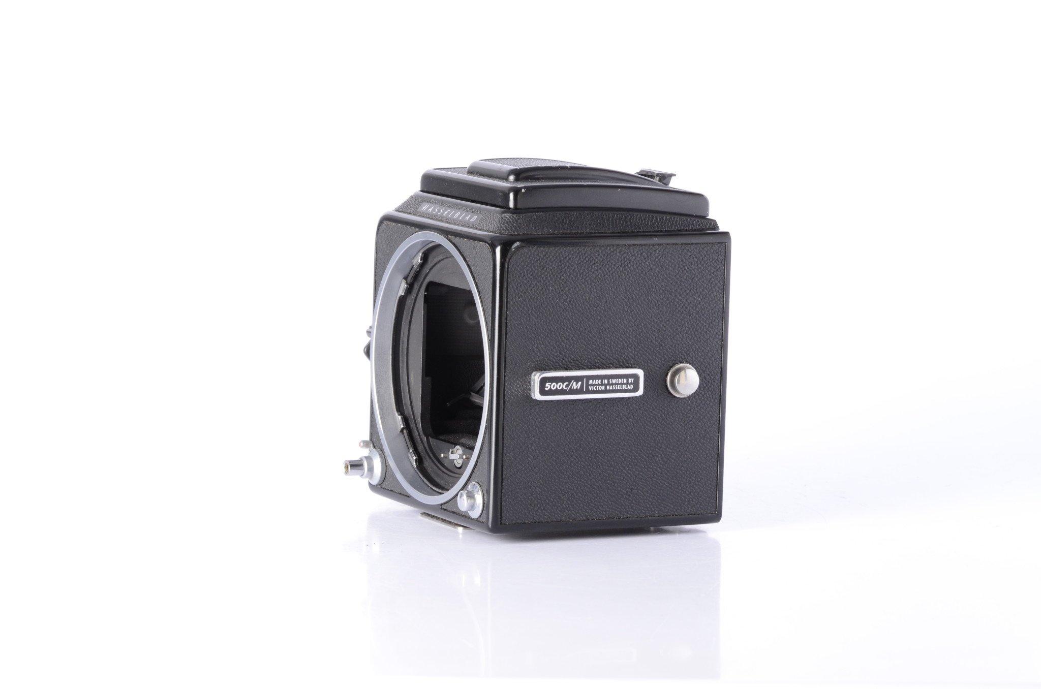 Hasselblad Hasselblad 500CM w/ waistlevel BLACK Medium Format Camera *