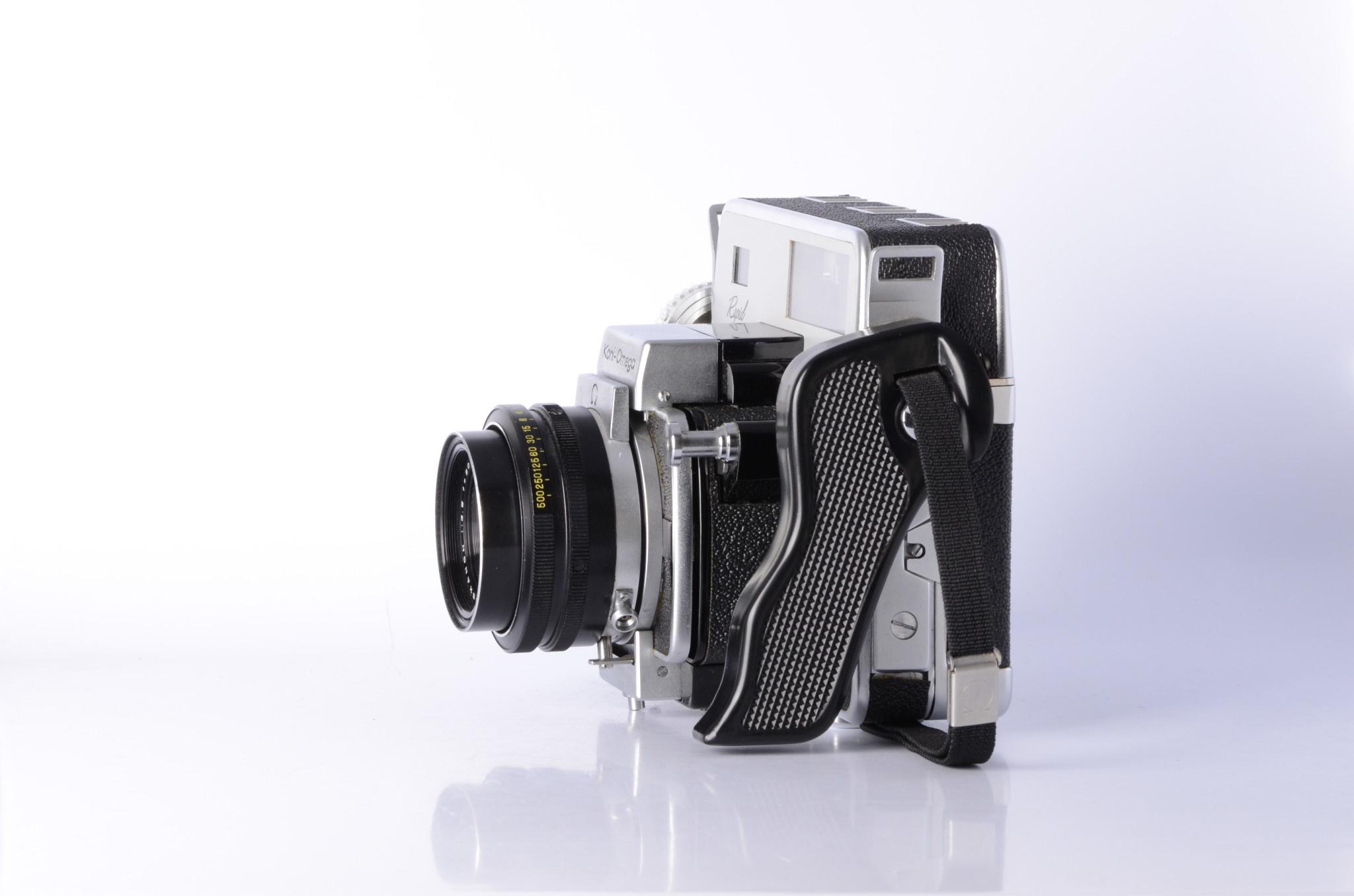 Konica Koni-Omega Rapid w/Hexanon 90mm f/3.5, 120 back *