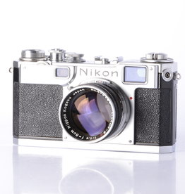 Nikon Nikon S2 35mm Film Camera w/ 5cm f/1.4 Lens *