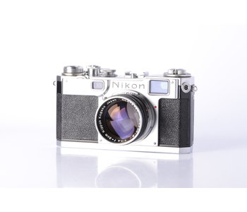 Nikon S2 35mm Film Camera w/ 5cm f/1.4 Lens *