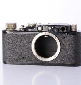 Leica Leica II Black Ernst Leitz Wetzlar D.R.P. Camera  *