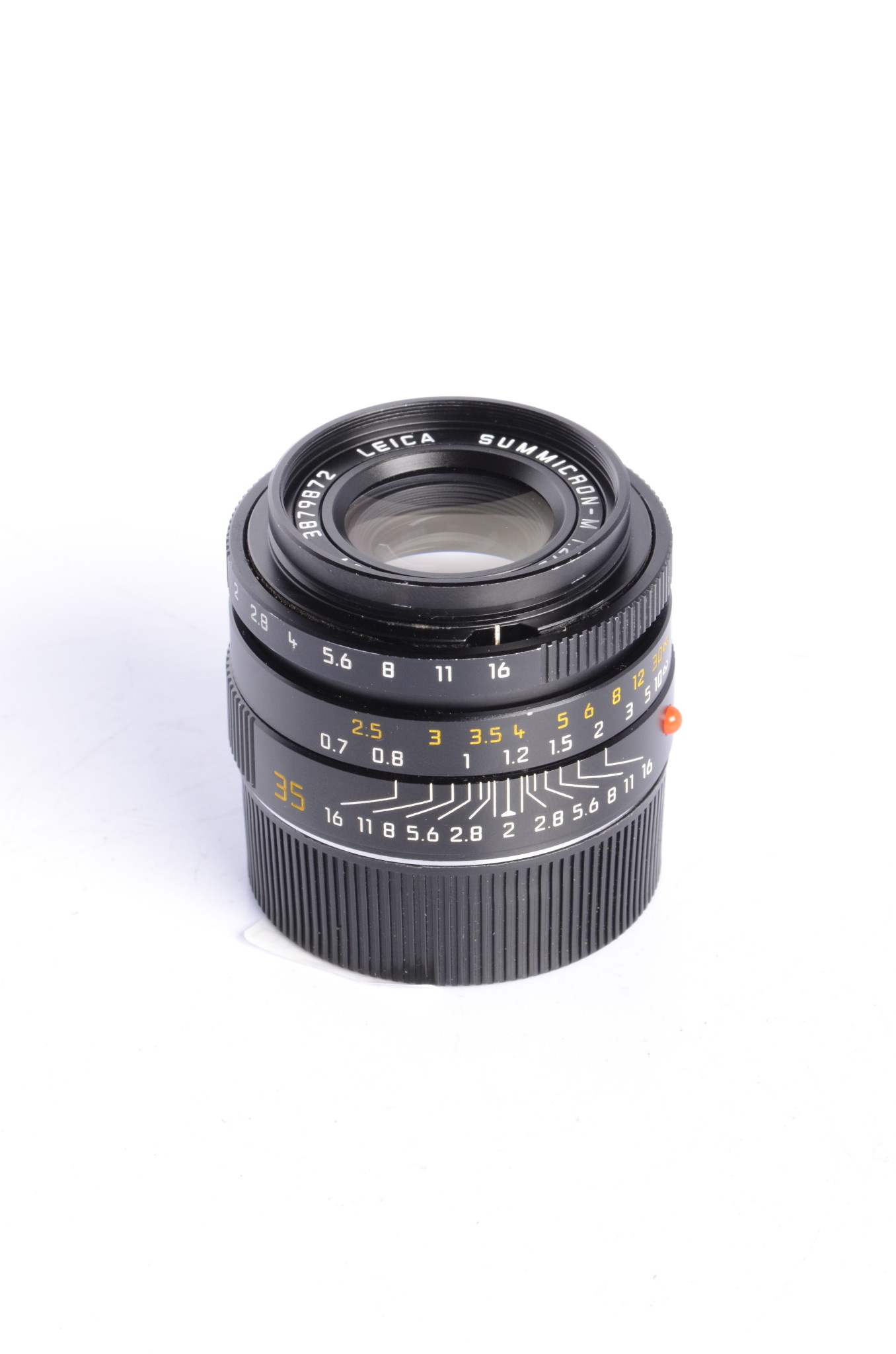 Leica Leica SUMMICRON-M 35mm f/2 Aspherical Lens - Black #11879 *