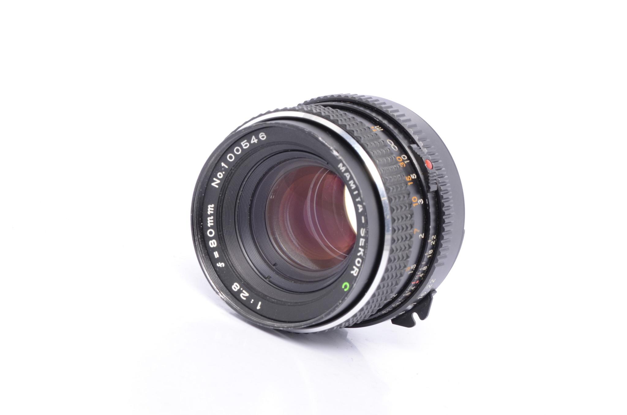 Mamiya Mamiya 80mm f/2.8 C for M645 Bargain SN: 100546