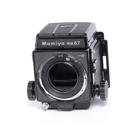Mamiya Mamiya RB67 Pro S w/ WL Waist Level Finder and P Adapter SN: C227867 *
