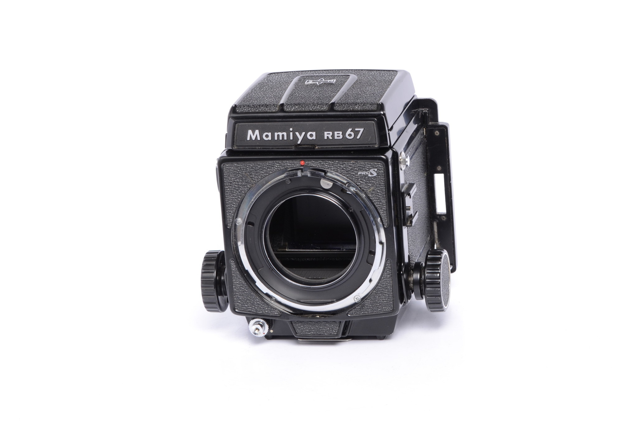 Mamiya RB67 Pro S w/ WL Waist Level Finder and P Adapter