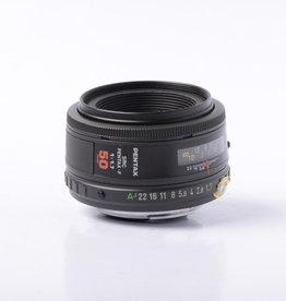Pentax Pentax-A 50mm F1.7 SMC Lens