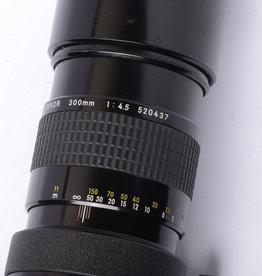 Nikon Nikon 300mm f/4.5 SN: 520437