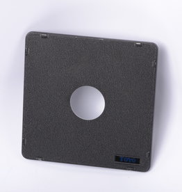"Toyo Toyo-View lens board 6 1/4"" x 6 1/4"" 157mm x 157mm 1 5/8"" 40mm Large Format"