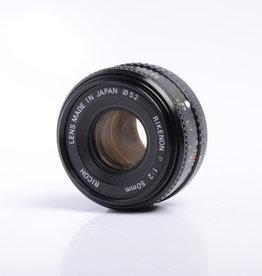 Ricoh Ricoh XR 50mm f/2 SN: 347356