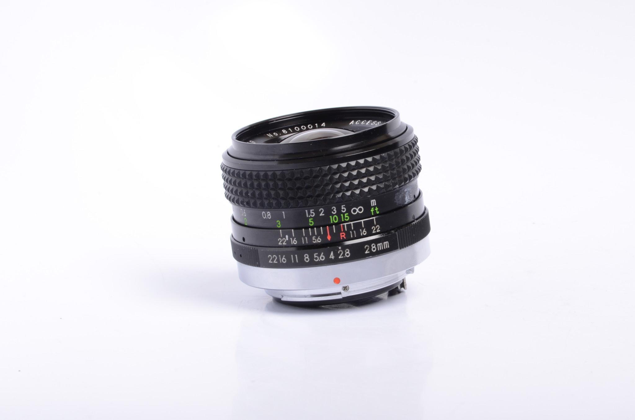 Access P-MC 28mm f/2.8 SN: 8100014