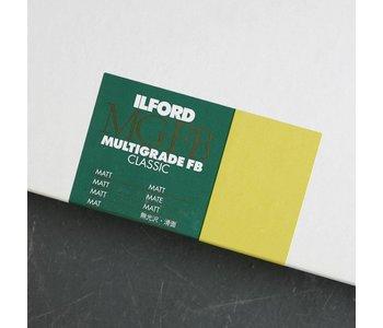 Ilford 8x10x25 FB Matt