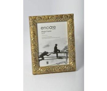 Encore ANTIQUE GOLD ORNATE Frame for 5x7