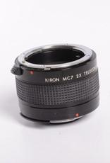 Kiron MC7 2X Teleconverter