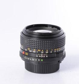 Minolta Minolta 50mm f/1.4 SN: 8093973