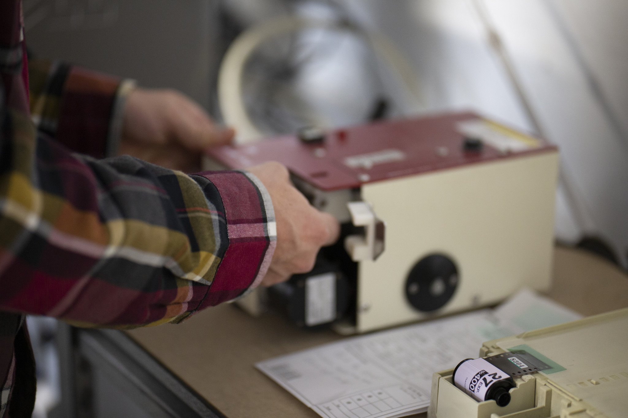 Every roll of film is processed with care at LeZot Camera.
