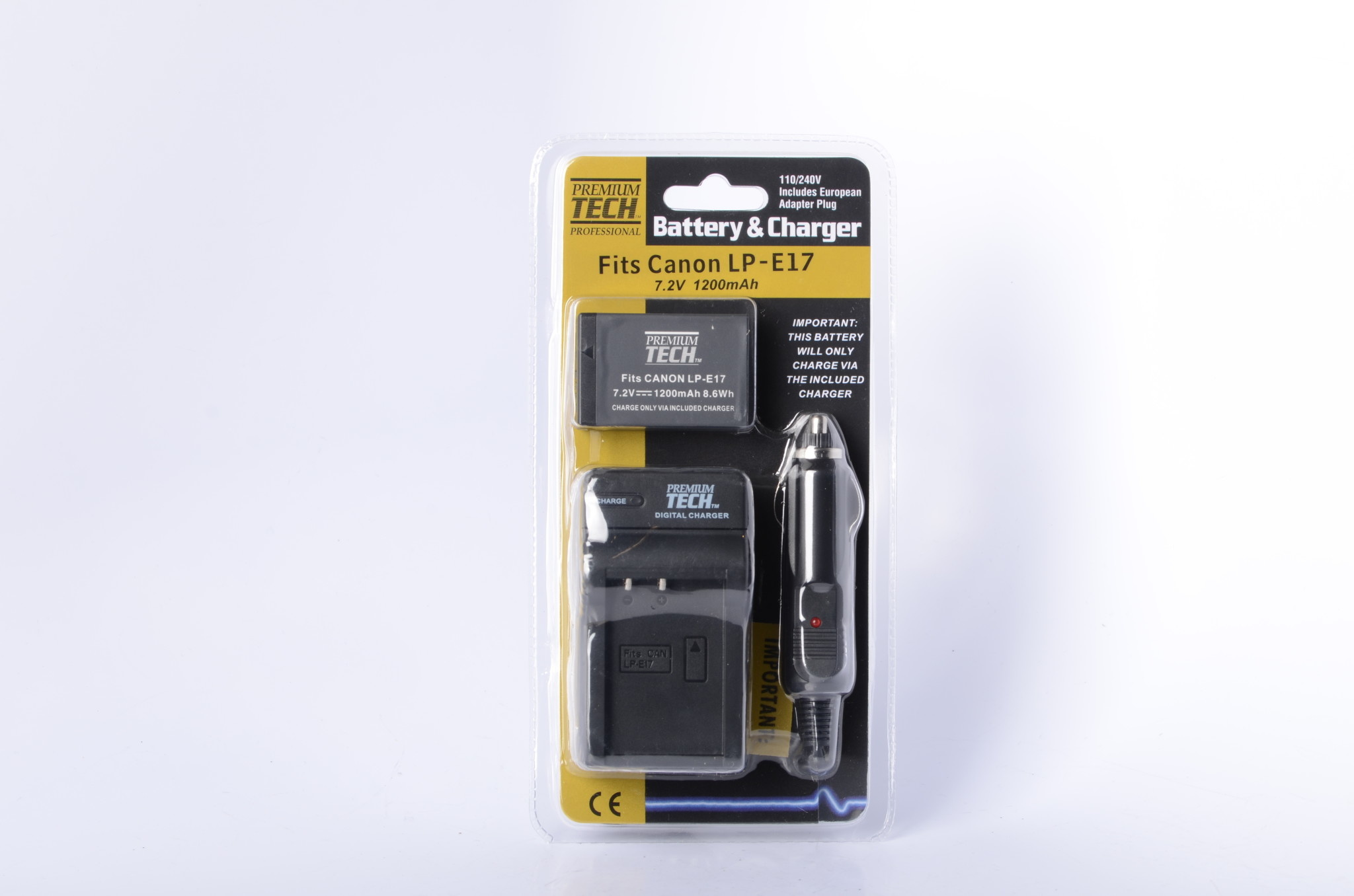 VidPro PowerTech Charger and battery for Canon LPE17 LP-E17