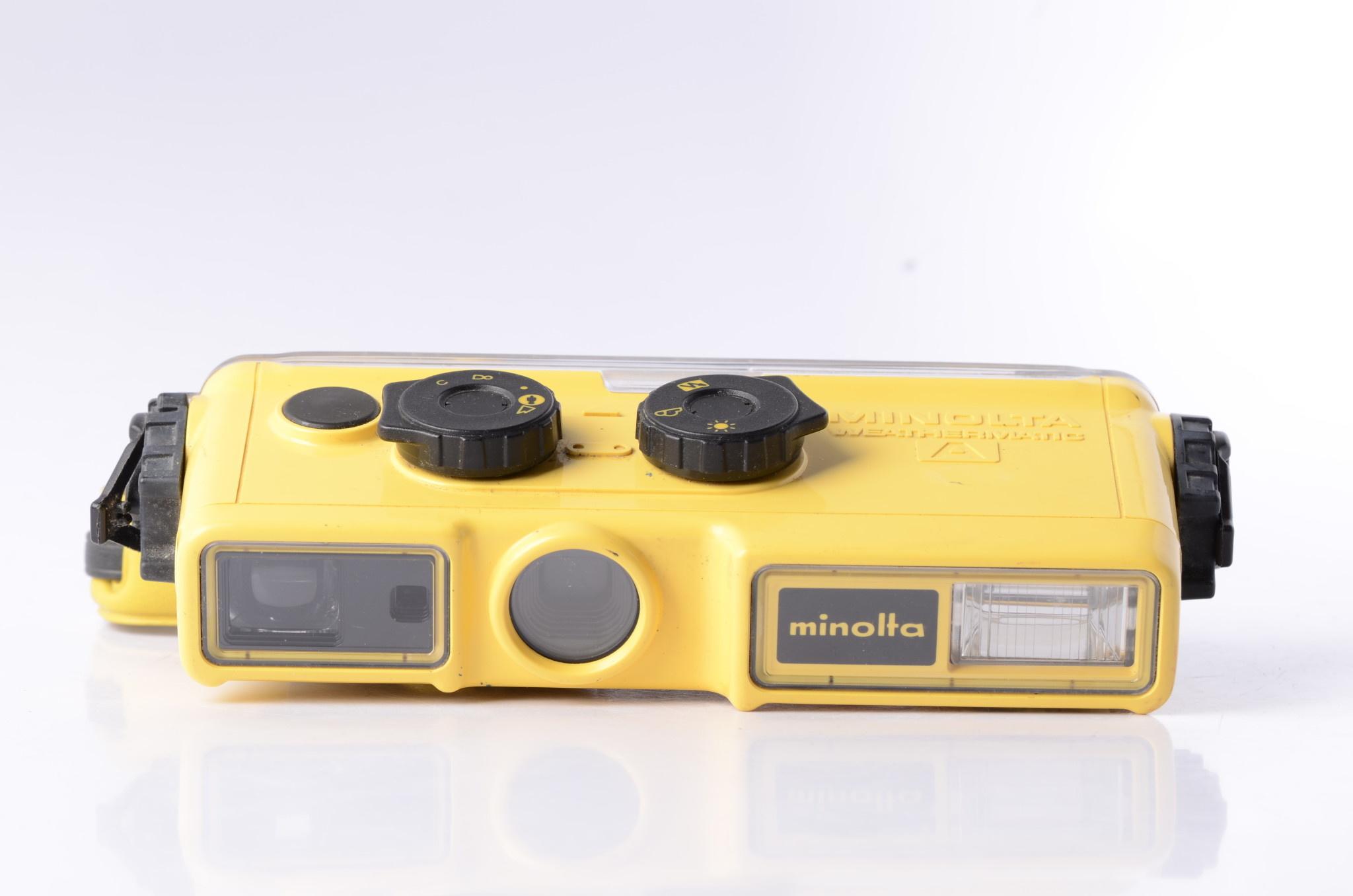 Minolta Minolta Weathermatic A 110 Camera SN: 1025586