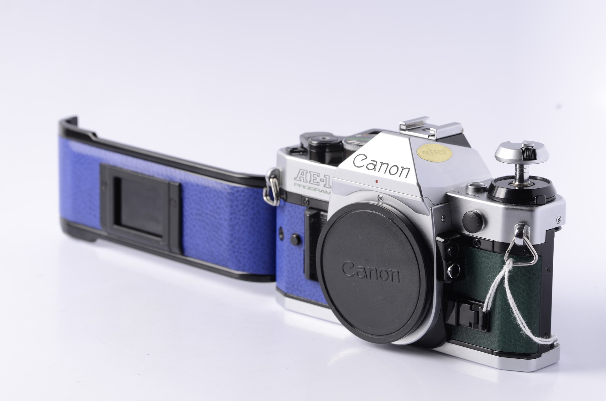 Repairs with Aidan: Re-skinning a Canon AE-1 Program