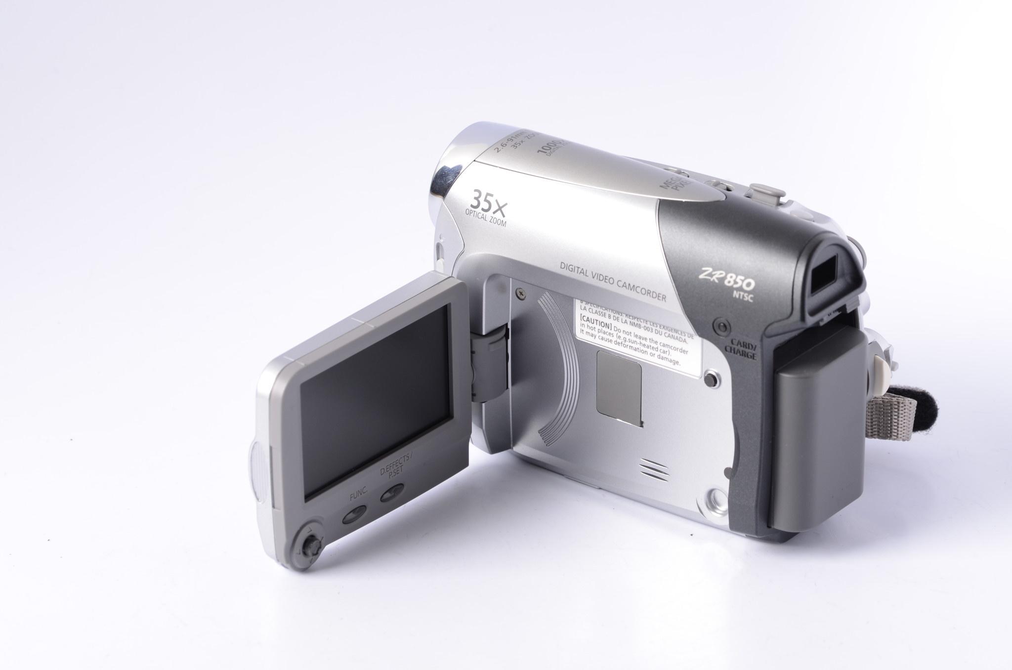Canon Canon ZR850 Camcorder SN: 582492024452