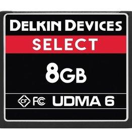 Delkin Delkin Devices Select 8GB CF UDMA 6 Memory Card