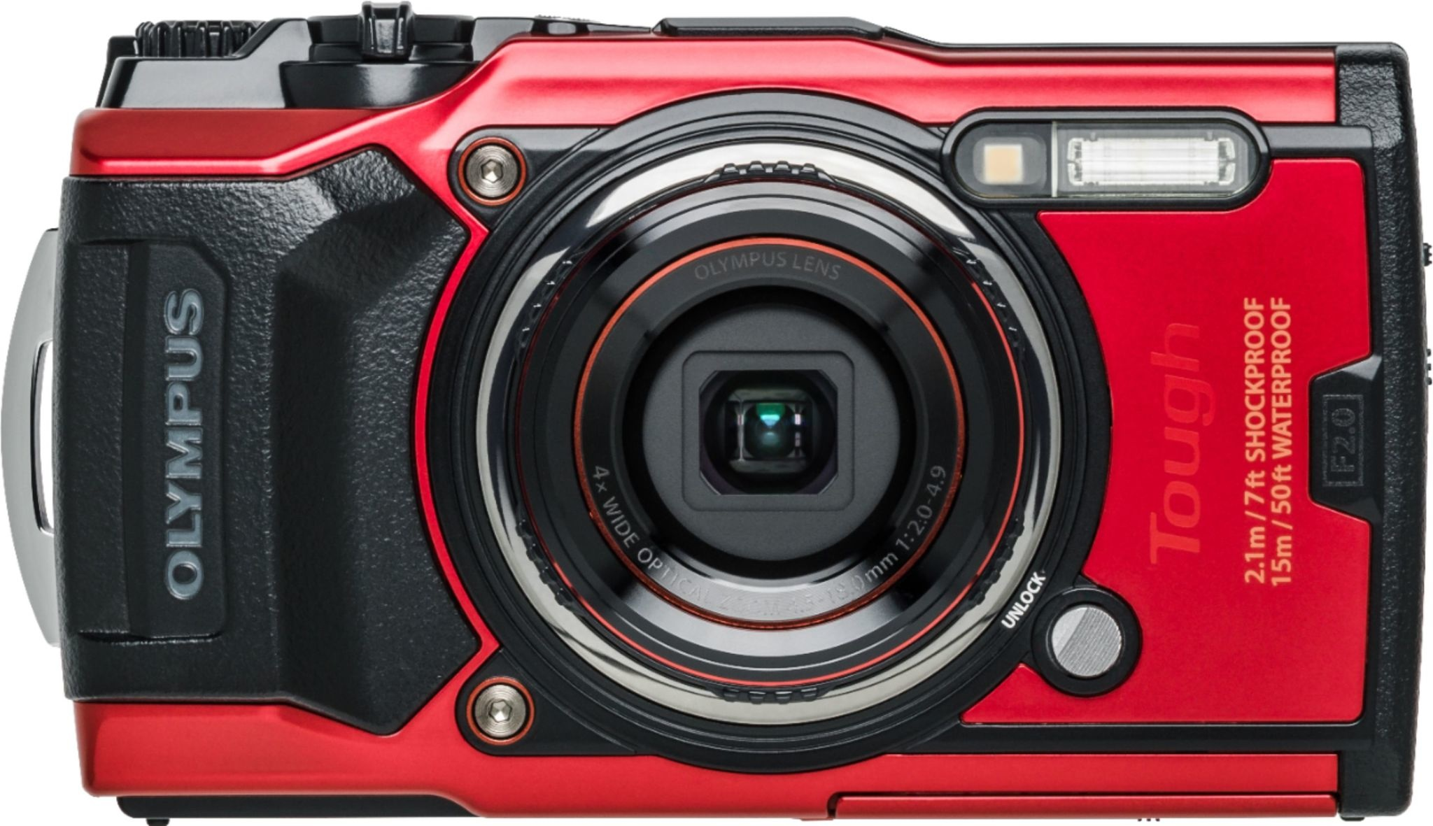 Olympus Olympus Tough TG-6 Digital Camera - Red