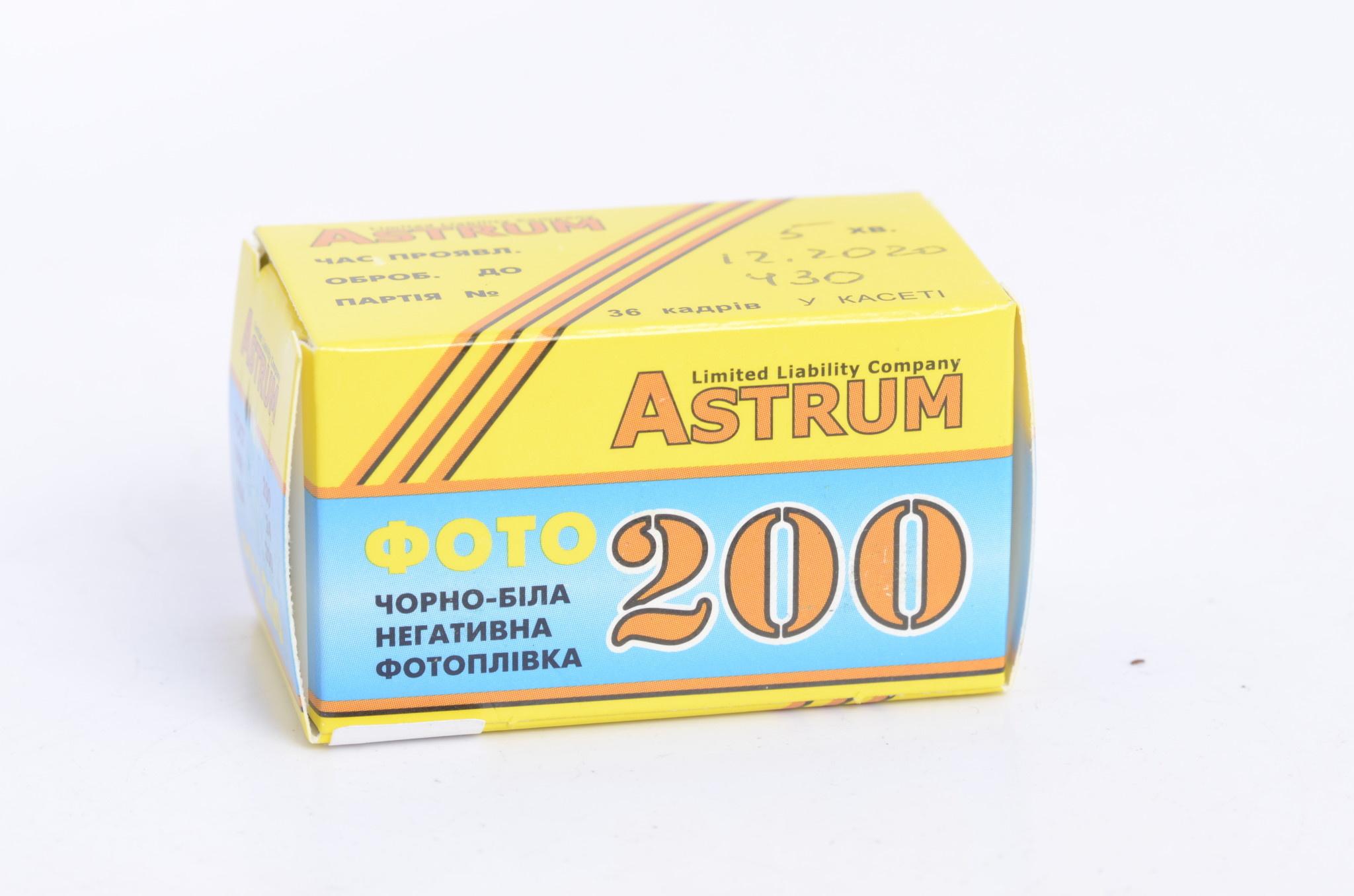 Astrum Astrum FOTO ISO 200 ASA 36 EXP