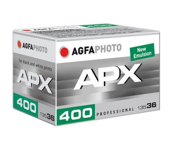Agfa APX 400 ASA Professional 135-36 Black and White *