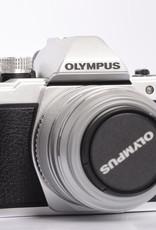 Olympus Olympus OM-D E-M10 Mark II Mirrorless Camera with 14-42 EZ Lens