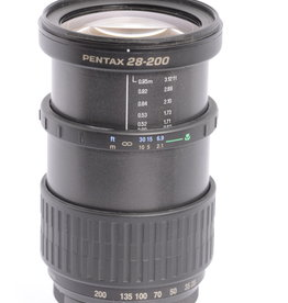 Pentax Pentax 28-200mm F/3.8-5.6 SMC FA IF AL Black K Mount Autofocus Lens {72}