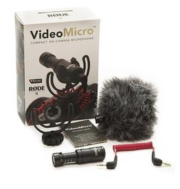 Rode Rode VideoMicro Compact On-Camera Microphone  *